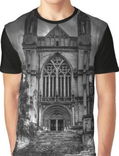 0544 St Paul's Cathedral, Dunedin Graphic T-Shirt