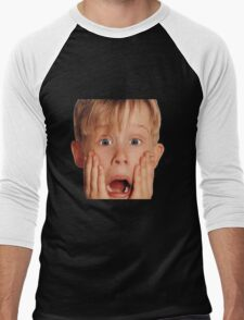Home Alone Men's Baseball ¾ T-Shirt