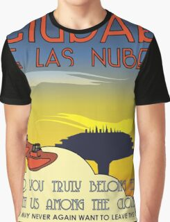 Ciudad De Las Nubes -  T-shirt and Poster Graphic T-Shirt
