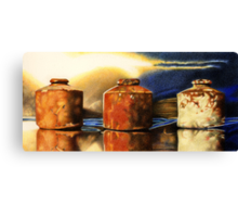 The Ink Pots Canvas Print