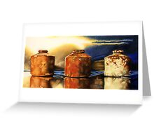 The Ink Pots Greeting Card