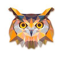 Polygonal Owl by alee7spain