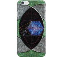 Sacred Geometry Interdimensional Travel iPhone Case iPhone Case/Skin