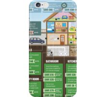 Save Energy Infographic iPhone Case/Skin