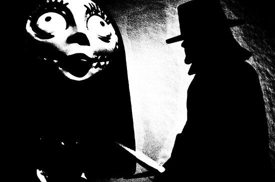 When Allan Moore met Tim Burton by Alex Chartonas