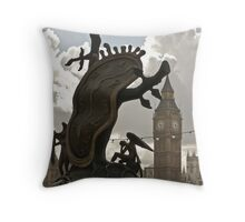 unconventional Throw Pillow