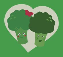 Broccoli in Love Kids Tee