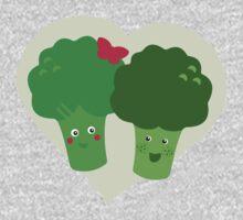 Broccoli in Love One Piece - Long Sleeve