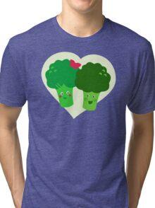 Broccoli in Love Tri-blend T-Shirt