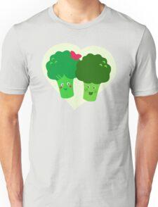 Broccoli in Love Unisex T-Shirt