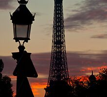 Eiffel Tower by Sam Tabone
