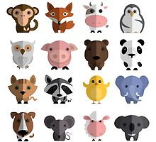 Cute Animals Collection by alee7spain