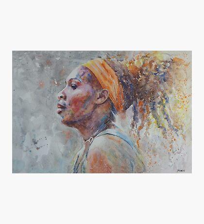 Serena Williams - Portrait 3 Photographic Print