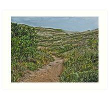 Dune Trail Art Print