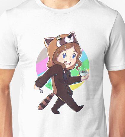 Red panda onesie. AK Unisex T-Shirt