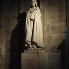 Statue of Ste. Therese at Cathdrale Notre Dame de Paris by Robert Former