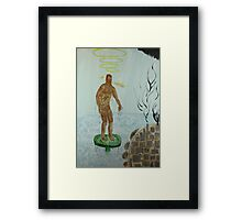 Pollution Avenger Framed Print