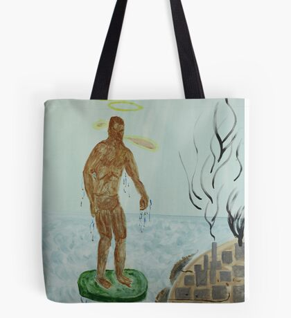 Pollution Avenger Tote Bag