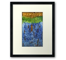 Ash Tree's in a Tossed World Framed Print
