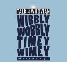Talk Whovian to Me (Version 2) by trekvix
