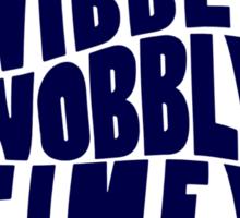 Talk Whovian to Me (Version 2) Sticker