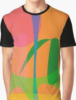 Corn Field Sundown Graphic T-Shirt