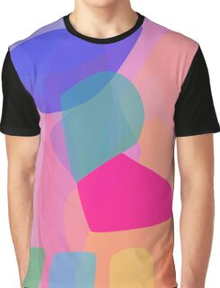 Four Buttons Graphic T-Shirt