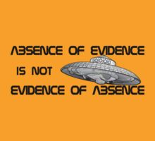 Absence of evidence... by TinaGraphics