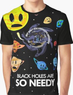 Black Holes Are So Needy Graphic T-Shirt