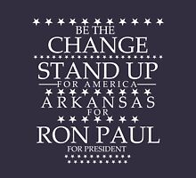 """""""Be the Change- Stand Up"""" Arkansas for Ron Paul T-Shirt"""
