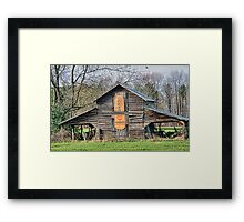 Mary's Barn Framed Print