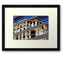 Denver reflection 11 Framed Print