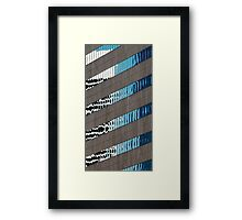 Denver reflection 13 Framed Print