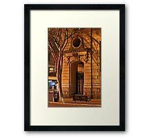 Arched Entrance Framed Print