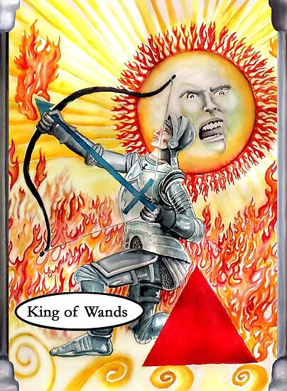 Knight of Wands by Davol White