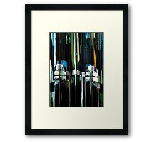 Denver reflection 18 Framed Print