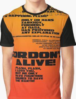 Flash Gordon - Queen Graphic T-Shirt