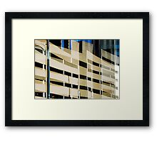 Denver reflection 20 Framed Print
