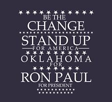 """""""Be The Change- Stand Up For America"""" Oklahoma for Ron Paul T-Shirt"""