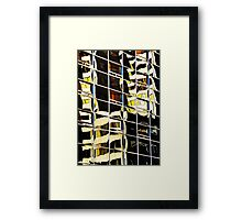 Denver reflection 22 Framed Print