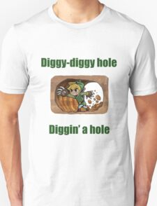 Diggy-diggy hole (LINK) T-Shirt