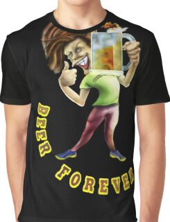 Beer Forever Graphic T-Shirt