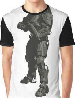 Minimalist Masterchief from Halo Graphic T-Shirt