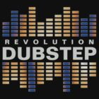 B - Revolution Dubstep Original Logo Tee by dubstep