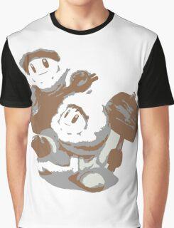 Minimalist Ice Climbers from Super Smash Bros. Brawl Graphic T-Shirt