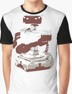 Minimalist R.O.B. from Super Smash Bros. Brawl Graphic T-Shirt