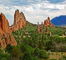 Garden of the Gods, Colorado Springs by TonyCrehan