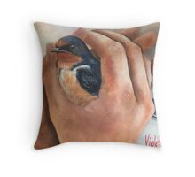 More than welcome. Throw Pillow