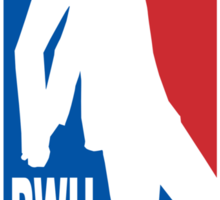 Pee Wee League Sticker