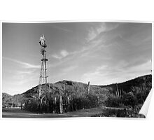 Colossal Cave Windmill Poster